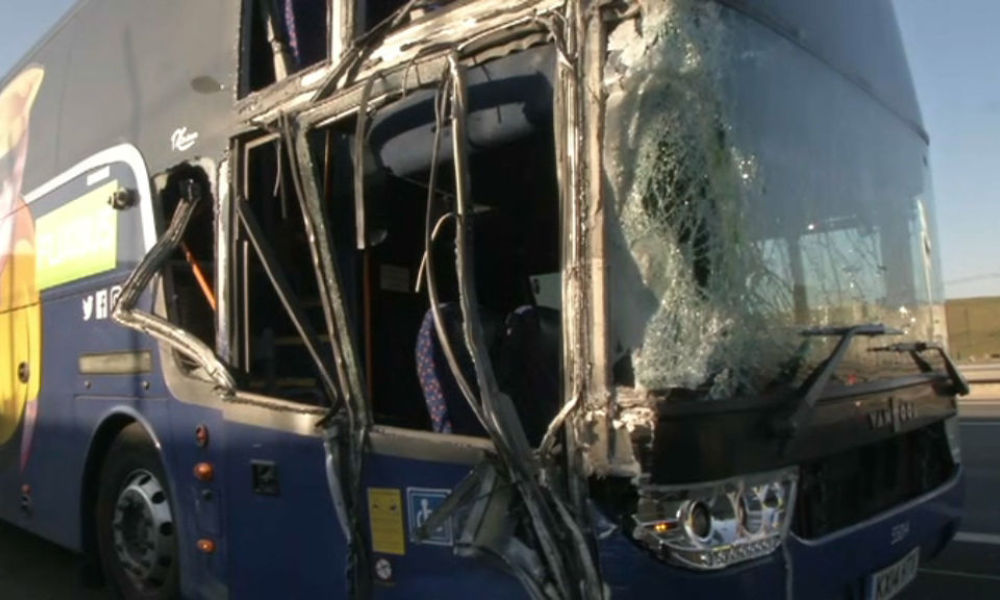 un accident de bus